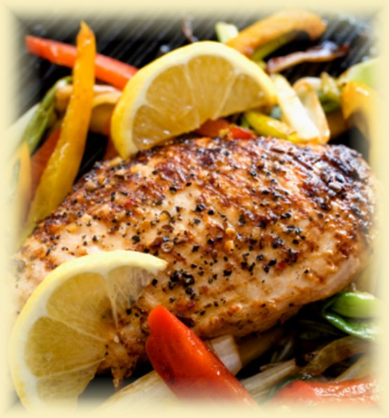 Sassy Seasonings on Grilled Chicken Breast